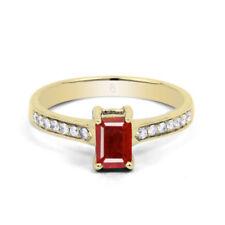 Emerald Ruby Fine Diamond Rings