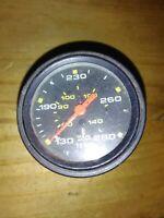 "Vintage Sunpro 2"" Temp Gauge C700-110-30  Rat Rod Hot Rod Indian Motorcycle"
