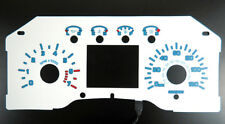 SVT Raptor Style White Face Blue Glow Gauge For 09-14 Ford F150 Pickup Truck