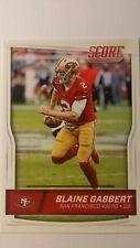 NFL Trading Card Blaine Gabbert San Francisco 49ers Score 2016 Panini