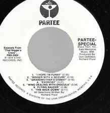45RPM RICHARD PRYOR - THAT N'S CRAZY (Excerpts) Partee/Stax promo unplayed VG+++