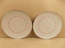 "Noritake ""Cheri"" 2 Dinner Plates"