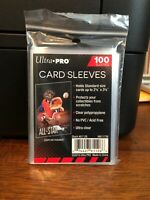 100 Ultra Pro Penny Card Sleeves 1 Pack of 100 for Standard Sized Cards