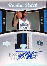 2004-05 UD Exquisite DWIGHT HOWARD Auto 4 Color Patch RC Rookie Card #d 99