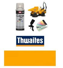 Thwaites Dump Truck Yellow Paint High Endurance Enamel Paint 400ml Aerosol