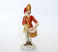 Meissen Figur - Soldat - Ungarischer Grenadier Tambour - J.J. Kaendler