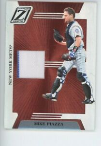 MIKE PIAZZA NEW YORK METS 2005 DONRUSS ZENITH RELIC INSERT SP MLB BASEBALL CARD