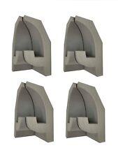 4 Coin Intérieur pour OL-25 Mur Moulure en Stuc pour Eclairage Indirect 140x80mm
