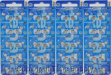 40 pc 379 Renata Watch Batteries SR521SW FREE SHIP 0% MERCURY