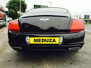 Bentley Continental GT/GTC Supersport Style Rear Boot Lip Spoiler Body Kit