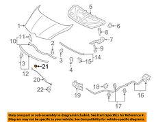 MAZDA OEM 07-15 CX-9 Hood-Support Prop Rod Grommet EG2156644A
