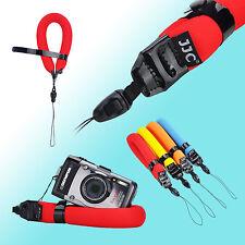 JJC Waterproof Floating Wrist Strap for Olympus Tg-4 Tg-3 Tg-2 1 GoPro Hero 4 3 Red
