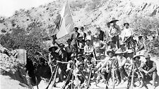 8x14 Print American Legion with Weapons during  Mexican (Madero) revolution 1911