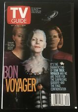TV GUIDE: MAY 19 - 25 ~ STAR TREK: VOYAGER ~ BON VOYAGER ~ Alice Krige