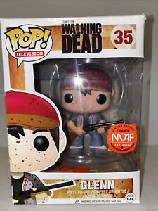 Man Of Action Figures Exclusive Funko Pop! TV: Walking Dead: Bloody Glenn #35