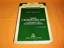 fondazione alcide de gasperi il processo csce da helsinki a vienna laterza 1989