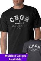 CBGB Vintage Look T-shirt Punk Rock OMFUG  S-5XL Premium or Basic Options