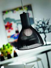 Lustre noir Suspension de cuisine Plafonnier Lampe pendante Luminaire Métal 9191