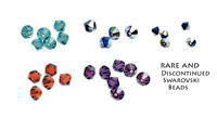 500 Swarovski Crystal Beads Clearance 5301 4 mm Mixed Colours