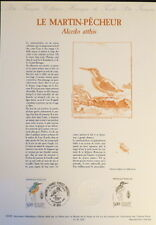 FRANCE MUSEE POSTAL FDC 33-91     LE MARTIN PECHEUR    5F  DOLE    1991
