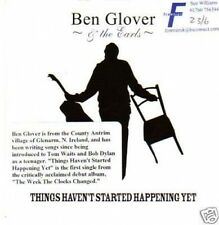 (317Y) Ben Glover & The Earls, Things Haven't St- DJ CD