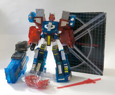 Transformers Optimus Fansproject City Commander Crystal Convoy Remake Classics