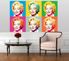 Visions of Marilyn Monroe giant wall art wall mural poster 117x175cm