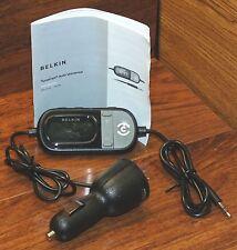 Belkin TuneCast Auto Universal (F8Z439) FM Audio Transmitter w/ 3.5mm Jack!