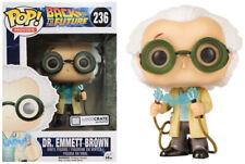 POP! Funko Zurück in die Zukunft  Dr. Emmett Brown Exclusive VINYL Figur 236 NEU