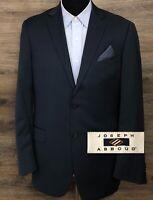 Joseph Abboud Men's Super 120s Wool Navy Blue 2-BTN Blazer Sport Coat Jacket 40R