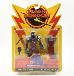 Flash Gordon Animated TV Series - Kobalt the Mercenary Action Figure