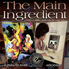 The Main Ingredient : Euphrates River/Afrodisiac CD (2012) ***NEW*** Great Value