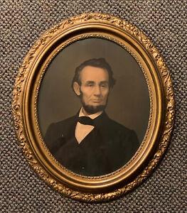 Antique E.C.Middleton Chromolithograph Of Civil War President Abraham Lincoln NR