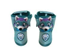 Paw Patrol Nickelodeon Toddler Girl's EVEREST 3D Boot Slip-On Slipper/Shoe: 7/8