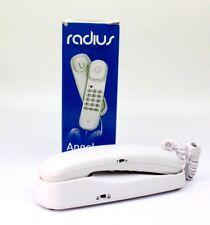 Ángel de RADIUS fácil de usar teléfono Con Cable En Blanco *** *** P & P libre