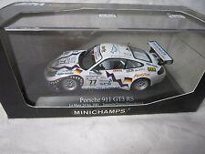 DV7174 MINICHAMPS PORSCHE 911 GT3 RS DUMAS #77 LE MANS 2001 Ref 400016977 1/43