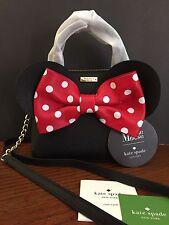 Kate Spade x Disney Minnie Mouse MAISE Bag Crossbody NWT Polka Dot Bow