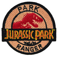 Jurassic Park Ranger Iron On Patch Uniform Movie Film Cosplay Logo Costume