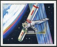 MARS EXPLORATION  SIERRA LEONE MNH 1171A SOUVENIR SHEET SPACE SATELLITE