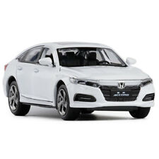Honda Accord 1:32 Scale Car Model Diecast Gift Toy Vehicle White Collection Kids