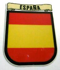 Souvenir-Aufkleber Espana Spanien Landesflagge rot gelb rot 80er Oldtimer