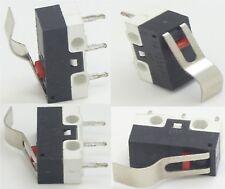 200 x Microswitch pulsante leva arco ampio miniatura fine corsa 1A 250V SPDT
