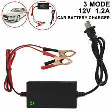 12V Trickle RV Car Battery Charger Maintainer Auto For Truck Motorcycle ATV USA