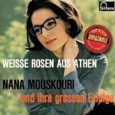 """NANA MOUSKOURI """"WEIßE ROSEN AUS ATHEN"""" CD NEW"""