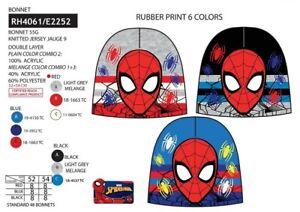 Bimbo Cappello Spiderman berretto Bambino zuccotto marvel avenger inverno