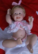 "Vintage Ashton Drake Galleries Doll 14"" 1993 Cute as a Button by Titus Tomescu"