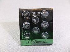 1 x DUPONT Pierres - Flints - 8 Pièces im Pochette - noir Épais - NEU - 011106