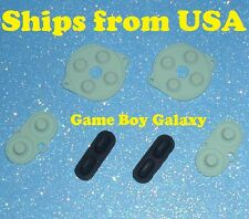 NEW 2 Sets Conductive RUBBER PADS Nintendo Game Boy Color Button gbc silicone 2x