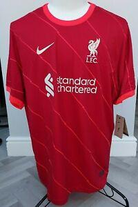 GENUINE   Nike Liverpool FC Home Shirt Jersey 2021-22   UK  BNWT  XXL