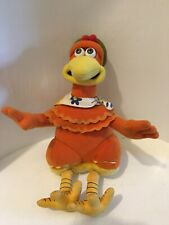 Chicken Run Aardman Dreamworks Ginger Plush animal Beanie toy Playmates 2000